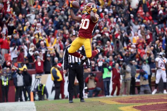 Wide Receiver Jamie Crowder #80 (Washington Redskins)
