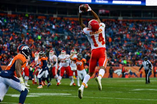 Demarcus Robinson #14 (Kansas City Chiefs)