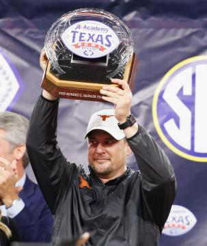 Head Coach Tom Herman (Texas Longhorns)