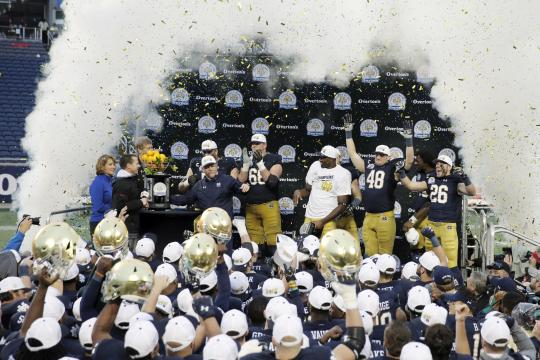 The Notre Dame Fighting Irish