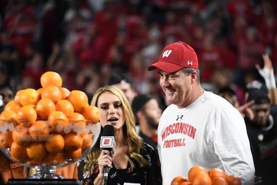 Head Coach Paul Chryst (Wisconsin Badgers)