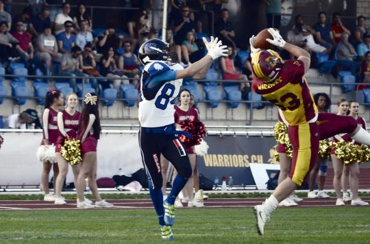 Interception von Dario Kolb (Winterthur...
