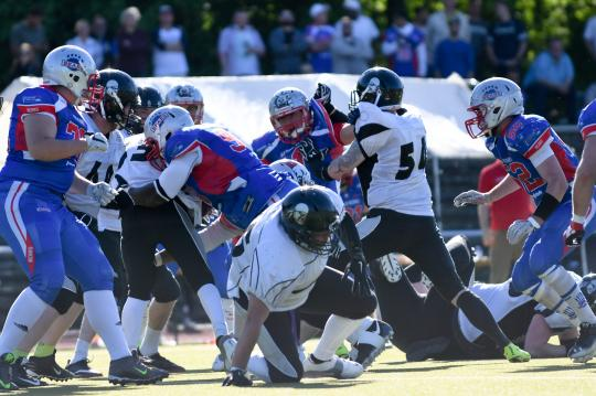 Berlin Bears vs. Berlin Rebels
