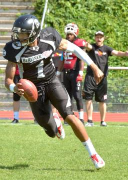 # 1 QB Terell Robinson (Berlin Rebels)