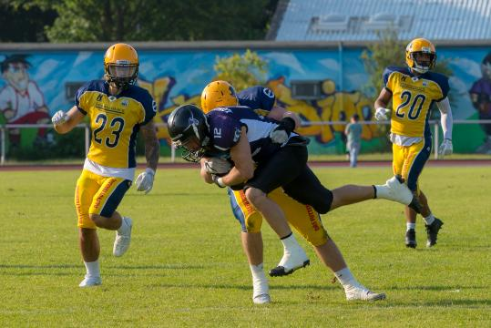 GFL 2 Spiel Langenfeld Longhorns vs. Elmshorn Fighting Pirates