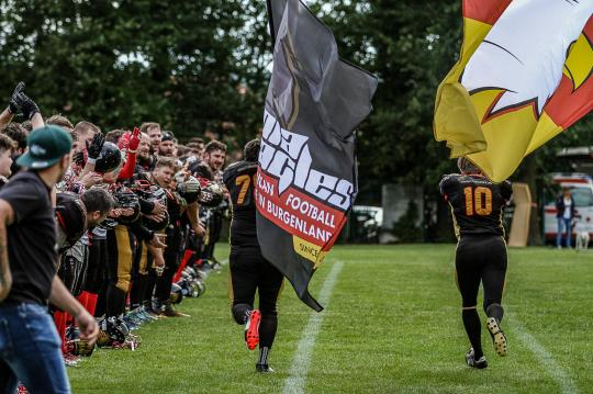 Jubel bei den Pannonia Eagles - die Playoffs...