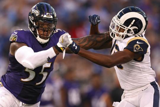 Terrell Suggs #55 (Baltimore Ravens)