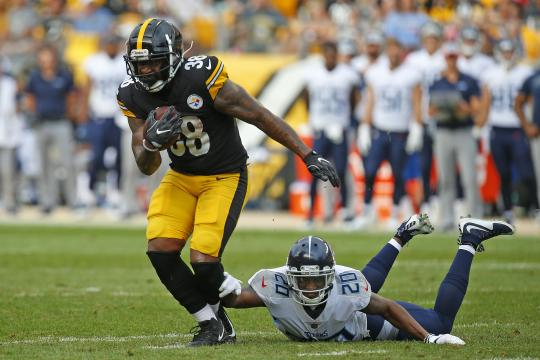 James Summers #38 (Pittsburgh Steelers)