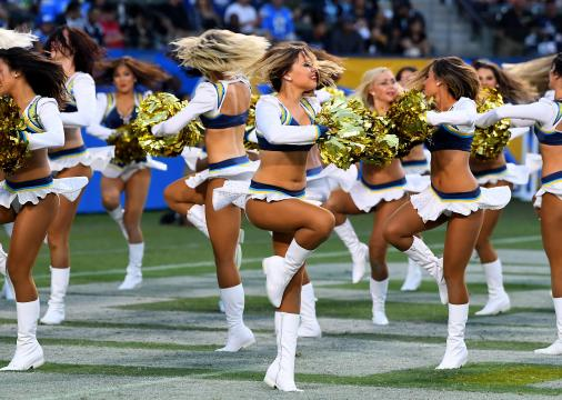 The Los Angeles Chargers Cheerleaders