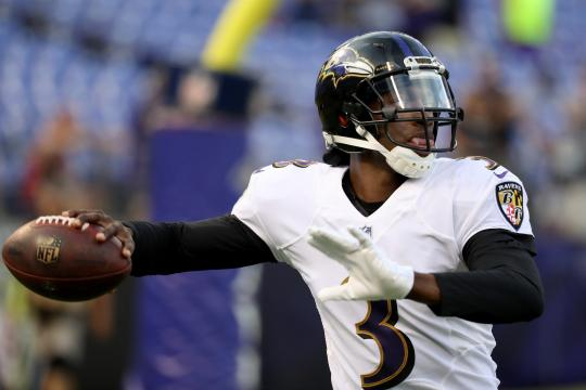 Robert Griffin III #3 (Baltimore Ravens)