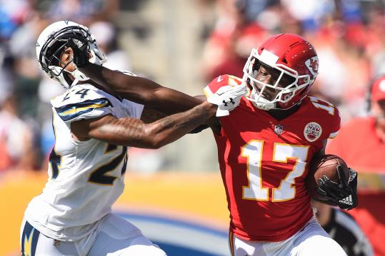 Wide Receiver Chris Conley #17 (Kansas City Chiefs)