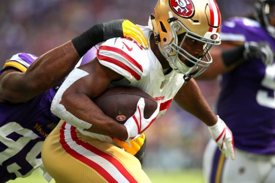 Matt Breida #22 (San Francisco 49ers)