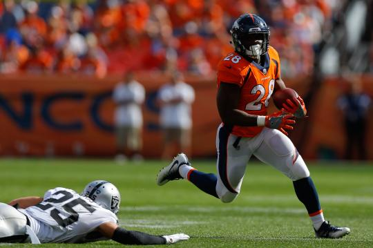 Running Back Royce Freeman #28 (Denver Broncos)