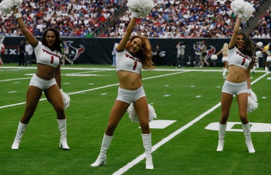 Cherleaders  (Houston Texans)
