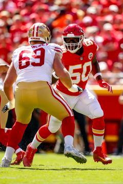 Justin Houston #50 (Kansas City Chiefs)