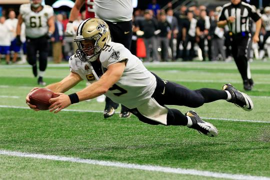 Drew Brees #9 (New Orleans Saints)