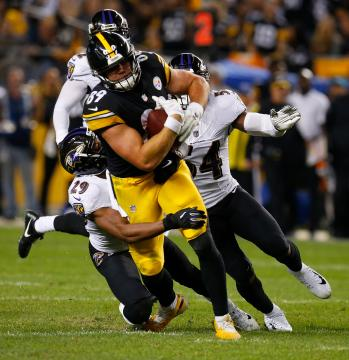 Vance McDonald #89 (Pittsburgh Steelers)