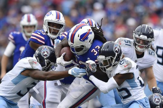 Running Back Chris Ivory #33 (Buffalo Bills)