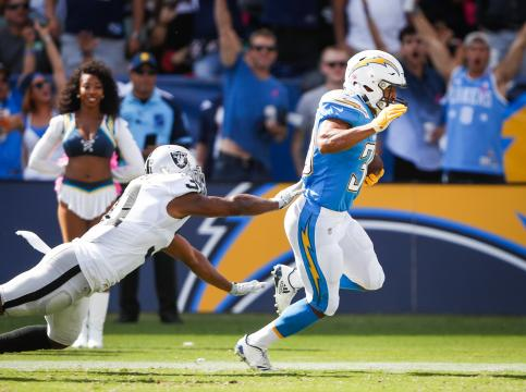 Running Back Austin Ekeler #30 (Los Angeles Chargers)