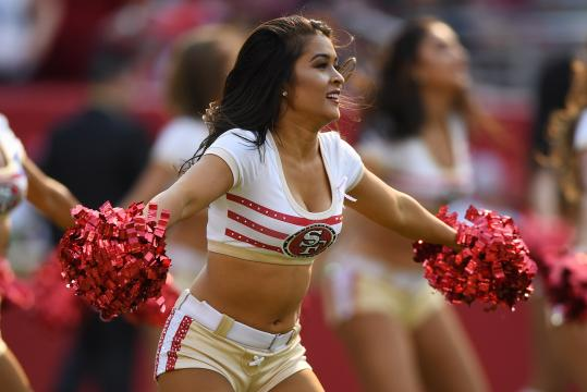 San Francisco 49ers Gold Rush Cheerleader