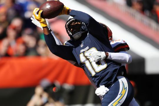 Tyrell Williams #16 (Los Angeles Chargers)