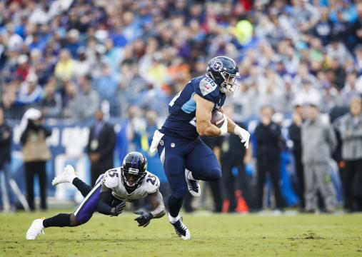 Anthony Firkser #86 (Tennessee Titans)