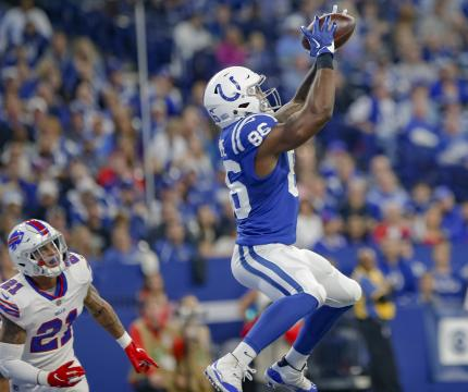 Erik Swoope #86 (Indianapolis Colts)