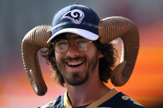 Los Angeles Rams fan