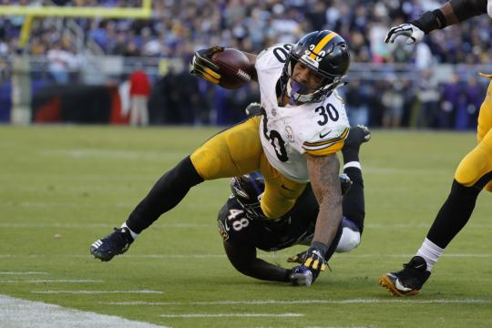 Running Back James Conner #30 (Pittsburgh Steelers)