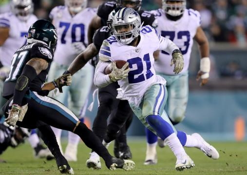 Ezekiel Elliott #21 (Dallas Cowboys)