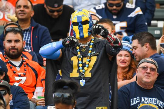 Los Angeles Chargers fan