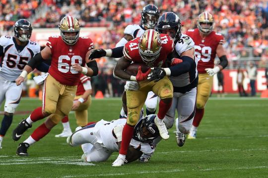 Jeff Wilson #41 (San Francisco 49ers)