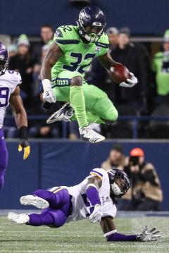 Chris Carson #32 (Seattle Seahawks)