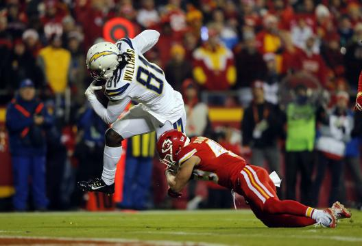 Wide Receiver Mike Williams #81 (Los Angeles...
