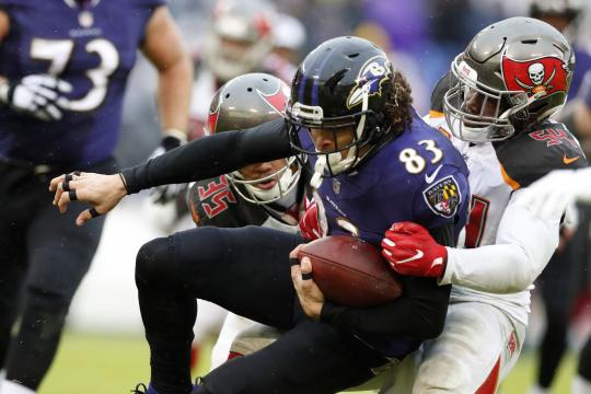 Wide Receiver Willie Snead #83 (Baltimore Ravens)