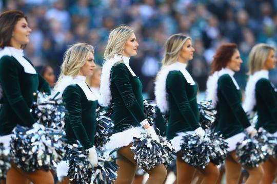 The Philadelphia Eagles Cheerleaders