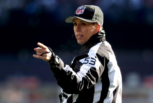 NFL Down Judge Sarah Thomas