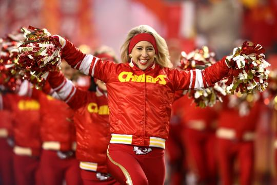Kansas City Chiefs Cheerleader