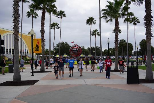 Der ESPN Wide World of Sports Complex durfte...