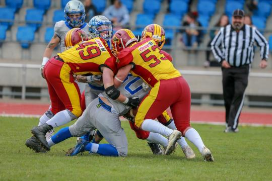 Winterthur Warriors (gelb) - Geneva Seahawks...