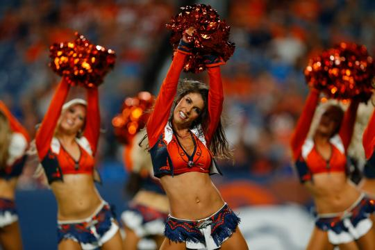 The Denver Broncos Cheerleaders