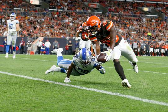 Dontrell Hilliard #25 (Cleveland Browns)