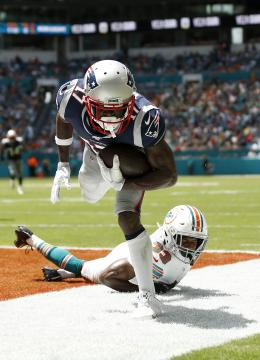 Antonio Brown #17 (New England Patriots)