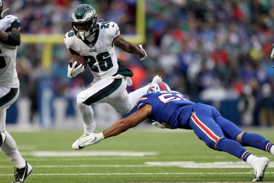 Miles Sanders #26 (Philadelphia Eagles)