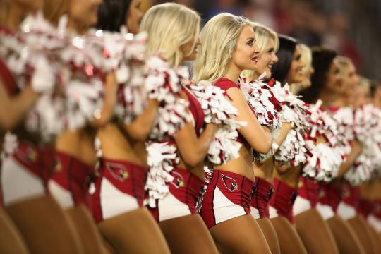 The Arizona Cardinals Cheerleaders