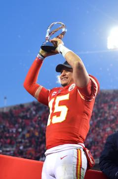 Patrick Mahomes #15 (Kansas City Chiefs)