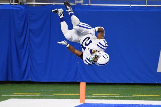 Nyheim Hines #21 (Indianapolis Colts)