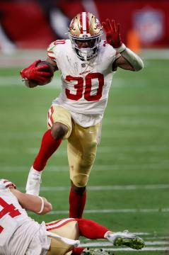 Running Back Jeff Wilson #30 (San Francisco 49ers)